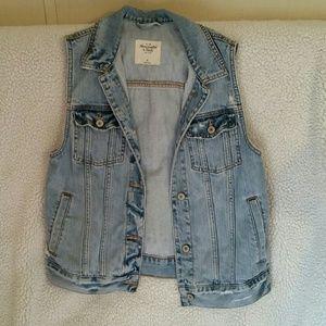 Jean vest jacket